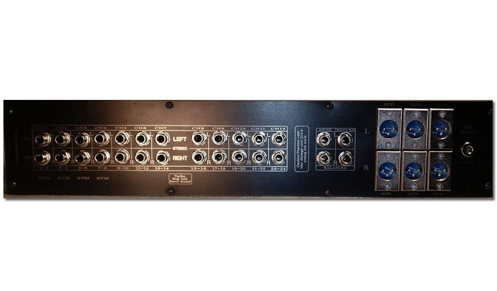 Analoque Summing Mixer - Studio Monitor Controller - Products