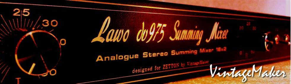 Lawo - Transparent Summing Mixer - Modern analog vibe