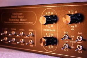 mixer transformer sound