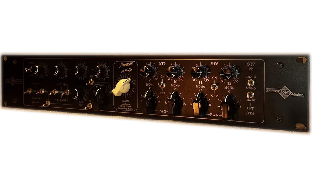 analoque summing mixer studio monitor controller products. Black Bedroom Furniture Sets. Home Design Ideas