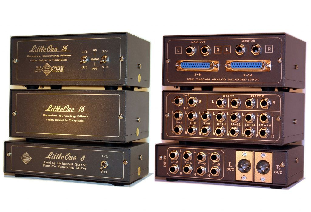 Best custom made mini passive summing mixers for home and pro studio producers