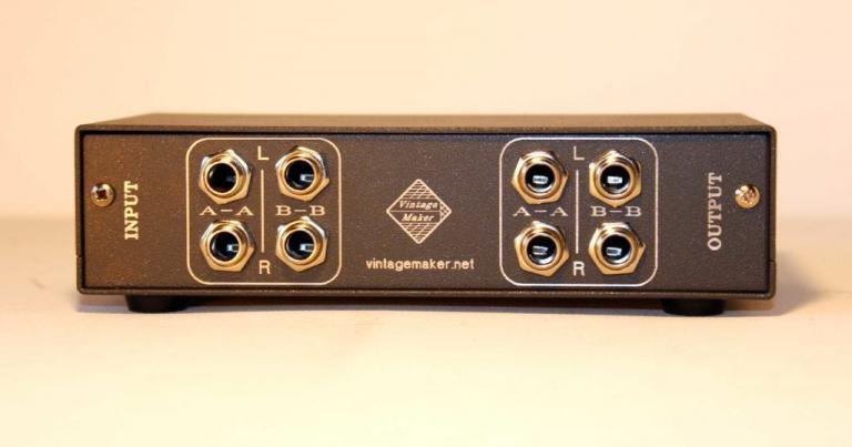 gain control studio audio for monitors