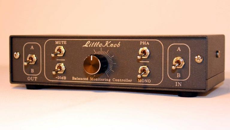 studio monitor controller gain volume