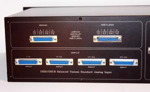 Insert send return dsub db25 tascam analog balanced