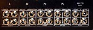 four 4 stereo insert
