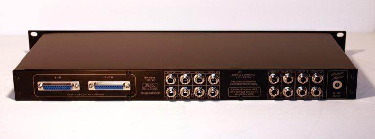 dsub db25 tascam input trs output