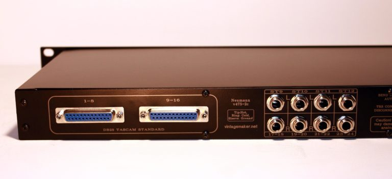 db25 input trs input mixer