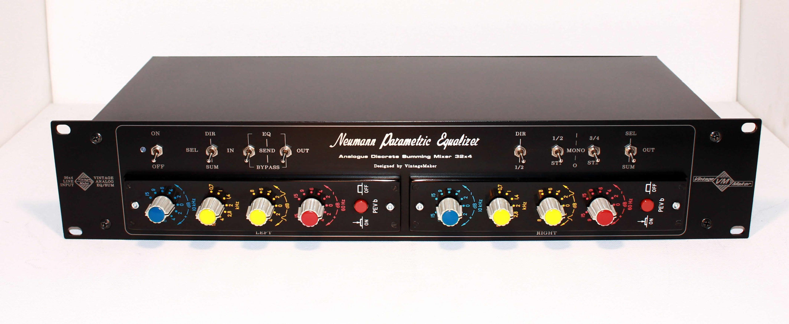 Neumann PEV-b – the cream of the Neumann EQ's