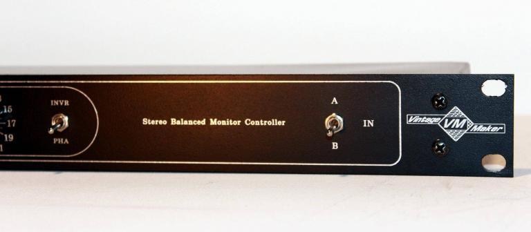 input select A or B studio controller