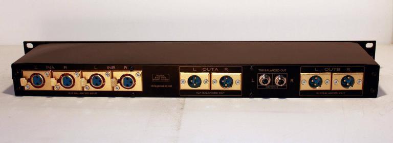 4 input 6 output studio line switcher
