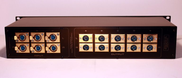 XLR in out monitor controller