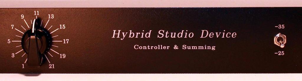 hybrid studio mixer device