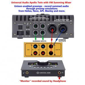 UAD Apollo Twin Summing Mixer