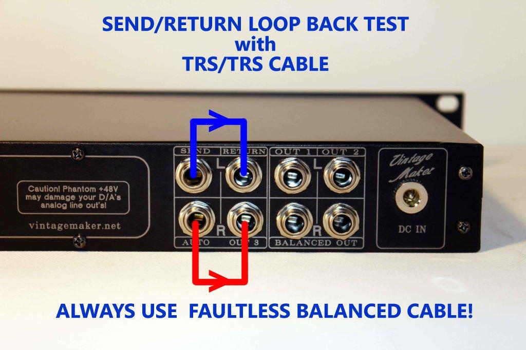 send return test
