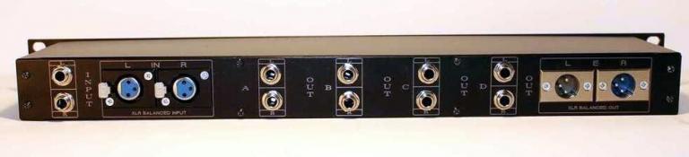 XLR TRS input balanced