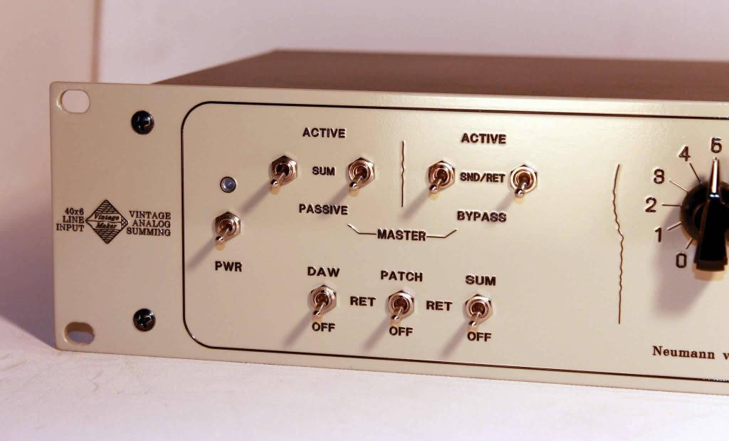 A/P switch insert and bi-directional insert return