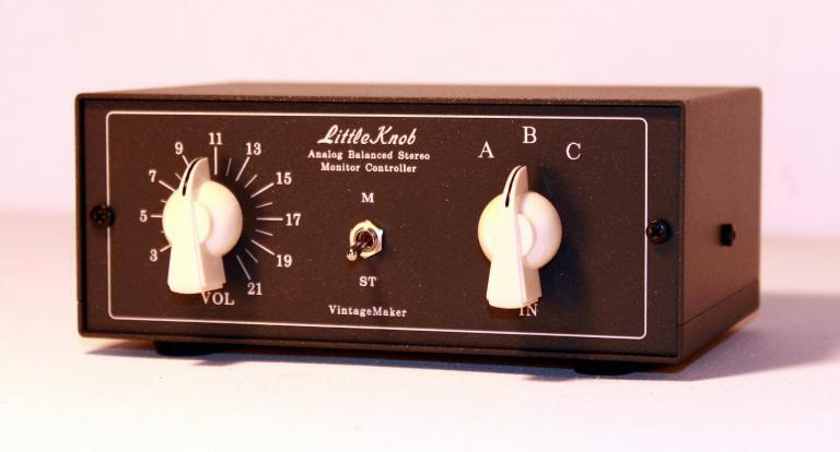 custom studio monitor control