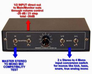 explain summing mixer